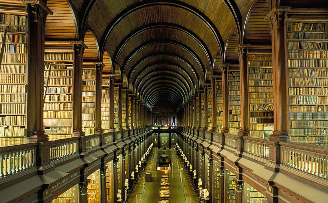 کتابخانه قدیم کالج ترینیتی